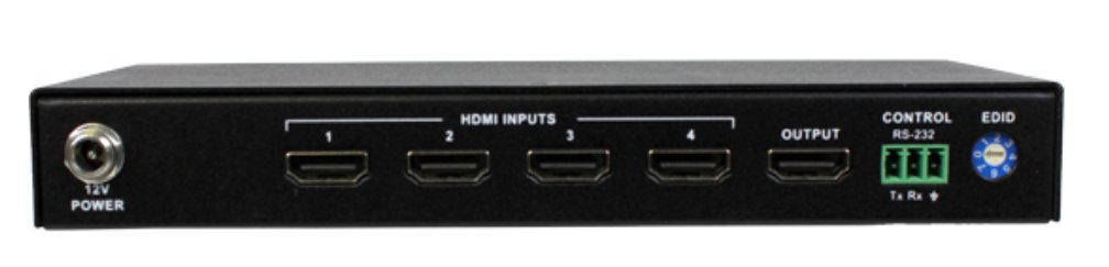 4x1 HDMI Switcher and 4K Resolutions