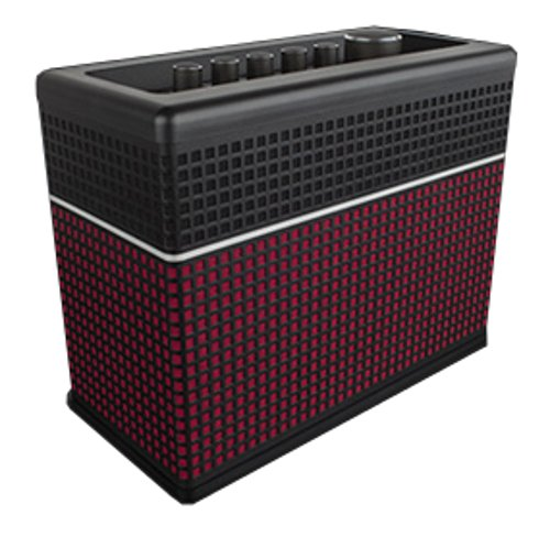 Compact Amp with 4-Way Stereo Speakers, 30W