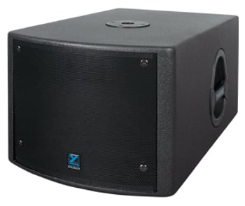 Powered Subwoofer, 10 Inches. 200 Watts, Black