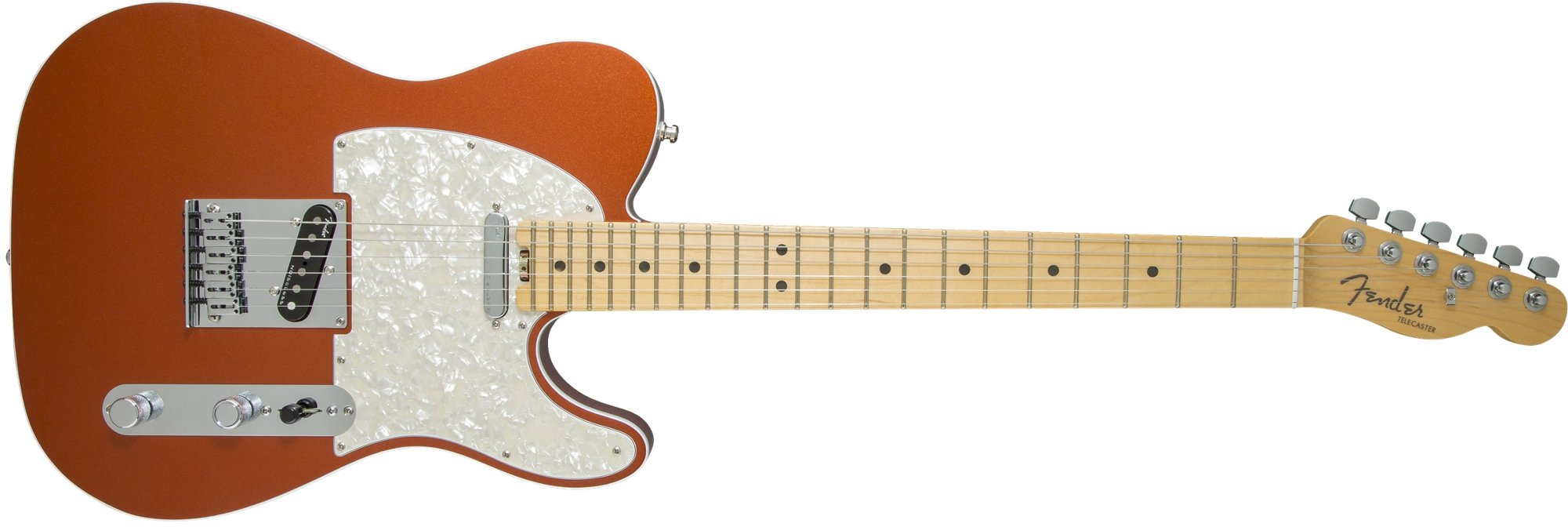 Single Cutaway SS Electric Guitar with Alder Body and Maple Fingerboard