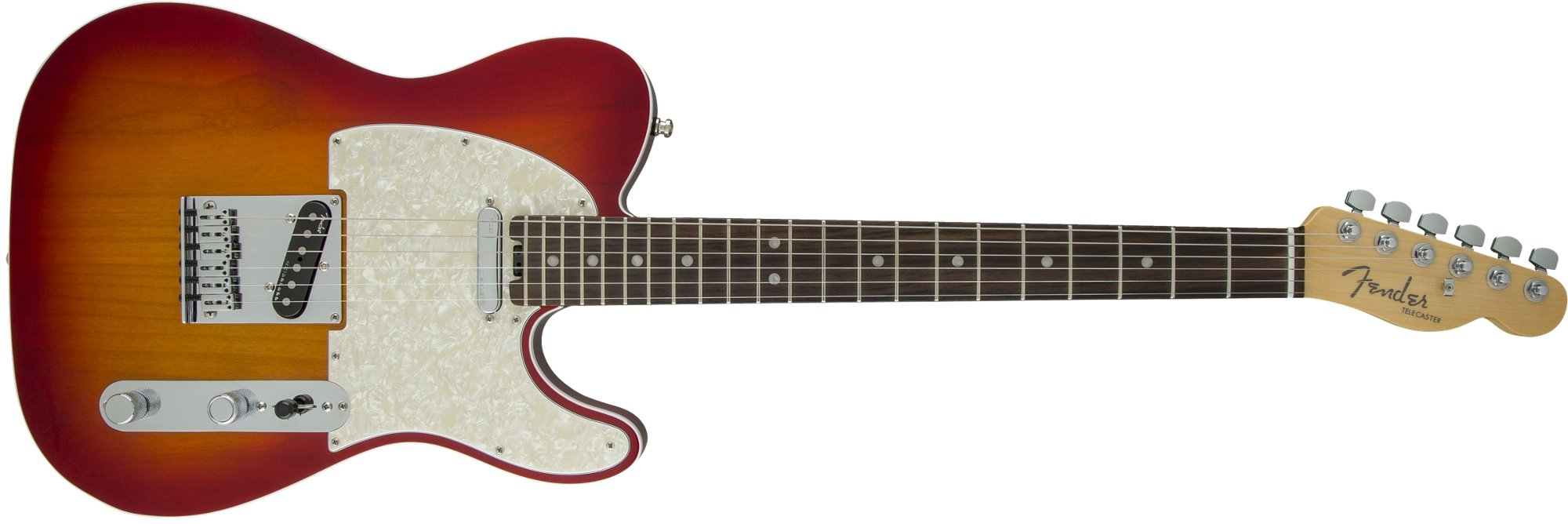 Single Cutaway SS Electric Guitar with Alder Body and Rosewood Fingerboard