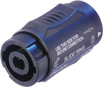 4-pin Speakon Male-Male Turnaround Coupler / Adapter