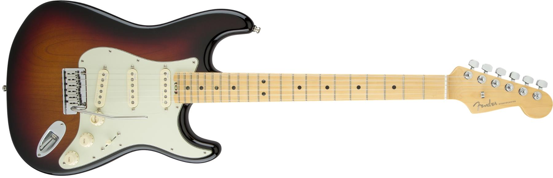 Fender American Elite Stratocaster Electric Guitar, 22-Fret, Maple Fingerboard STRAT-AMELITE-MPL