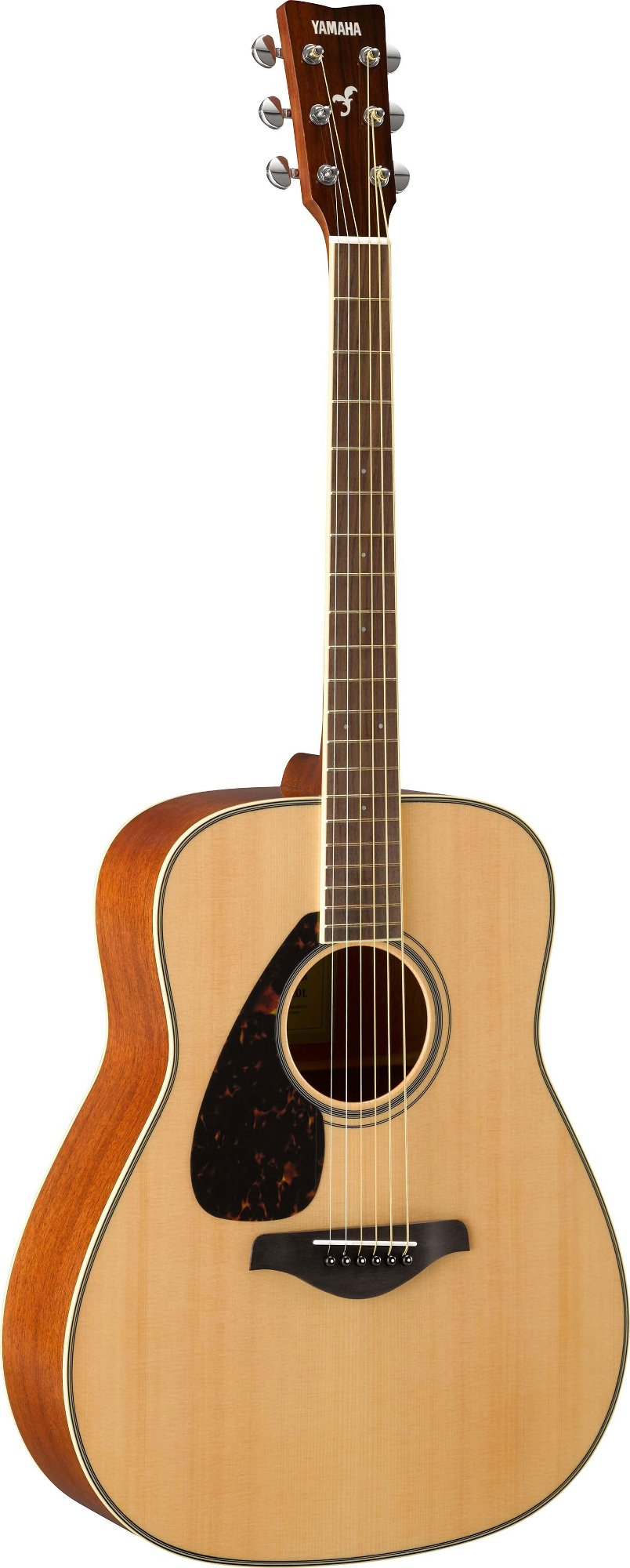 Left-Handed Acoustic Guitar with Solid Spruce Top, Mahogany Back & Sides