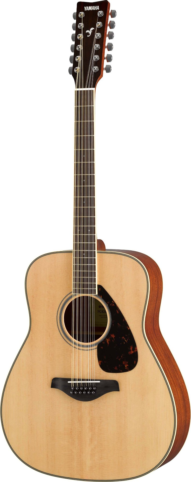12-String Acoustic Guitar with Solid Spruce Top, Mahogany Back & Sides