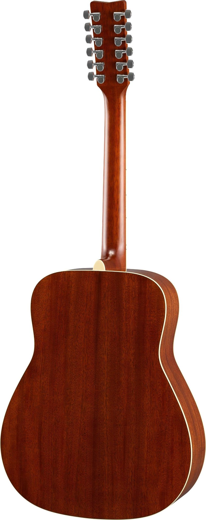 Yamaha FG820-12 12-String Acoustic Guitar with Solid Spruce Top, Mahogany Back & Sides FG820-12