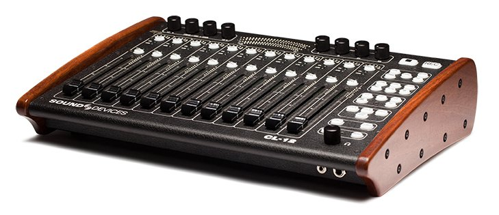 Linear Fader Controller for the 688 Mixer/Recorder in Red Mahogany Finish