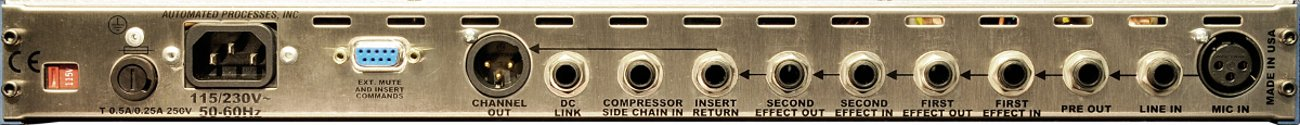 Automated Processes Inc CHANNEL-STRIP Rack Mount Channel Strip With 325 Line Driver CHANNEL-STRIP