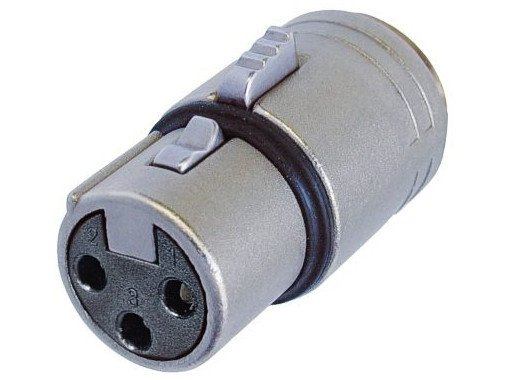 3-pin Female XLR Housing