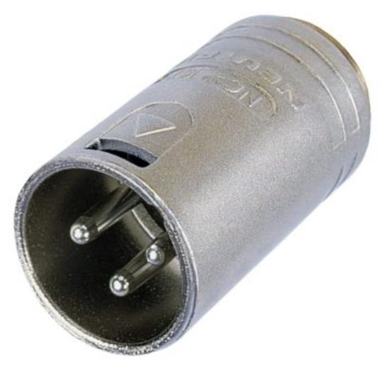 Neutrik NM3MXI 3-Pin Male XLR Housing NM3MXI