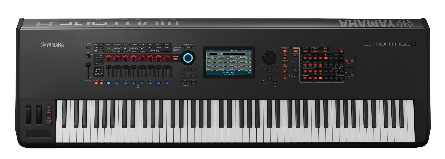 yamaha montage 8 88 key synthesizer full compass. Black Bedroom Furniture Sets. Home Design Ideas