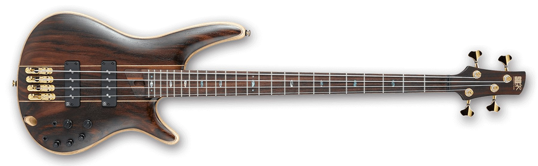 4-String Premium Series Bass Guitar, Natural Low Gloss Finish