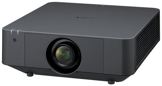 4100 Lumens WUXGA Laser Projector in Black