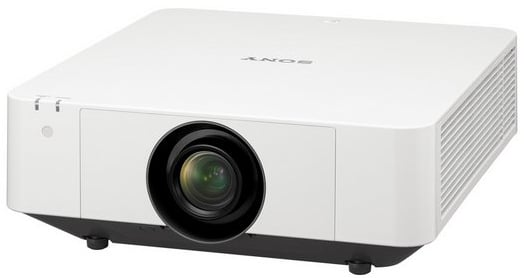 4100 Lumen WUXGA Laser Projector in White