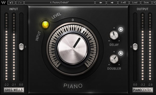 Piano Mixing and Processing Plugin
