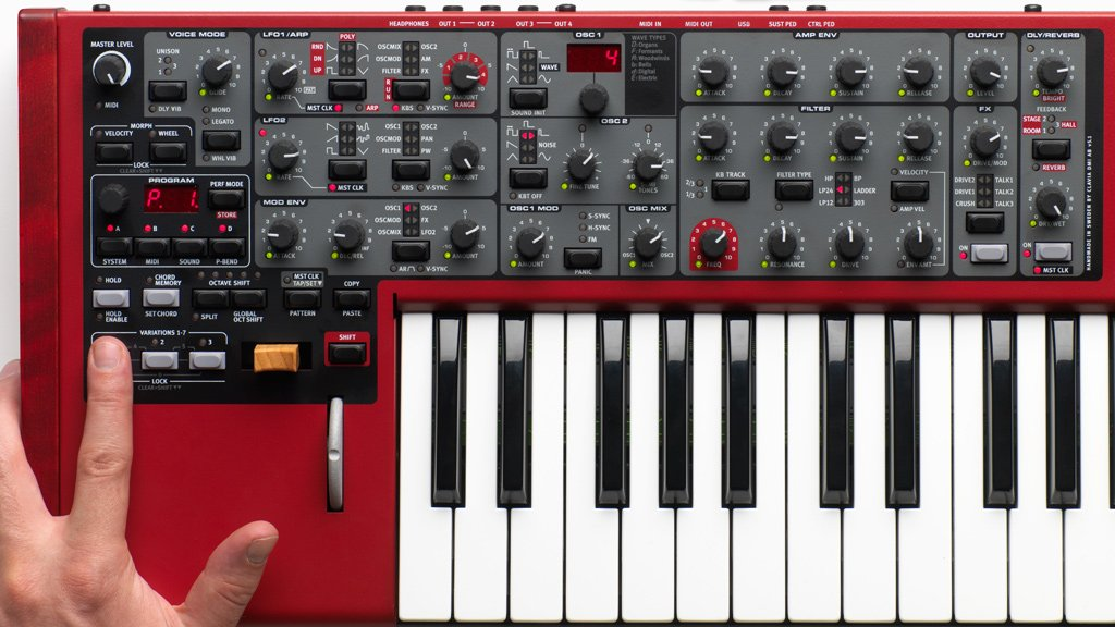 4-Part Multi-Timbral Performance Synthesizer