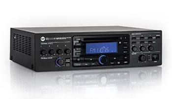 4-Channel 3-Zone 320W RMS Mixer/Amplifer with CD And USB-MP3 Playback
