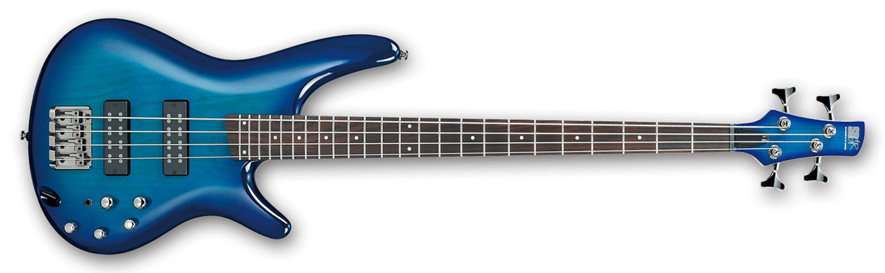 4-String Bass Guitar, 24-Fret, Rosewood Fretboard with White Dot Inlay