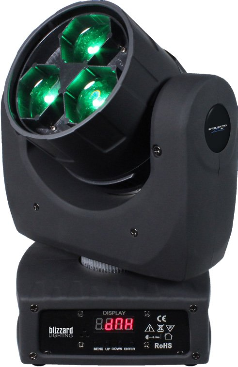 Blizzard Lighting Stiletto Z3 3x15W RGBW Moving Head STILETTO-Z3