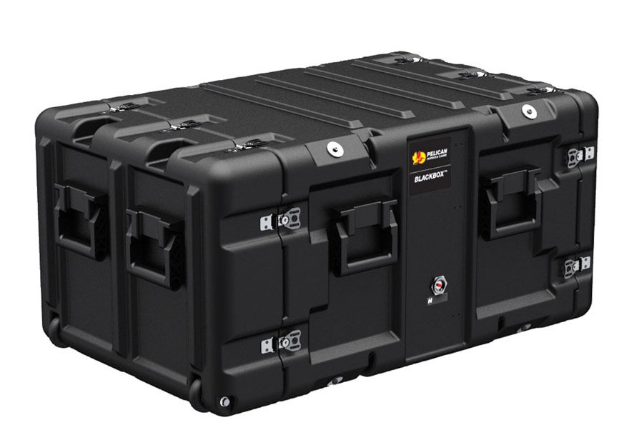 Pelican Cases Hardigg BlackBox 7U Hard Sided Case BLACKBOX-7U