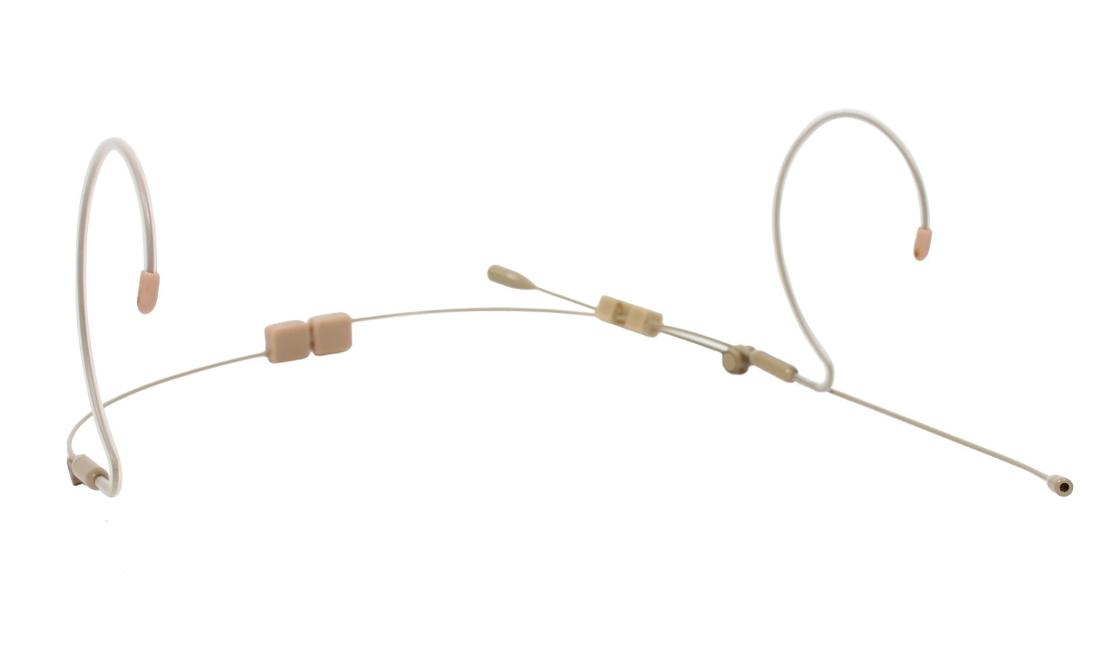 Mic, Earset Mic Wired for Shure, Wireless, TA4F