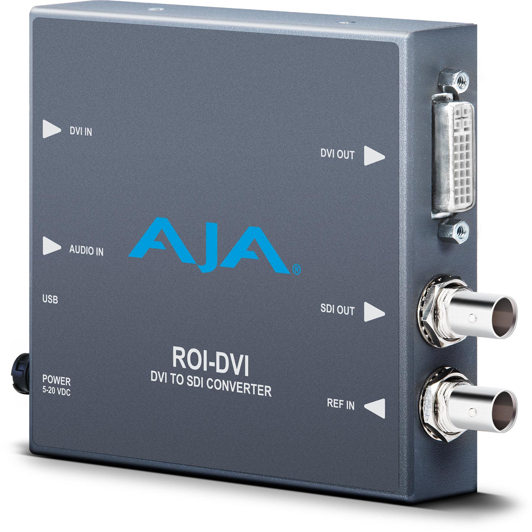 DVI/HDMI to SDI Converter with ROI Scaling
