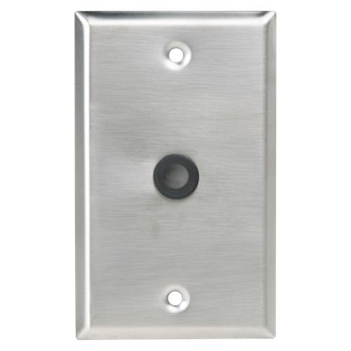 """Atlas Sound Wall Plate 3/8"""" Hole with Grommet SG-38GH"""