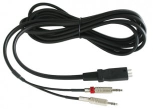 Headset Cable, With 2 Stereo Plugs