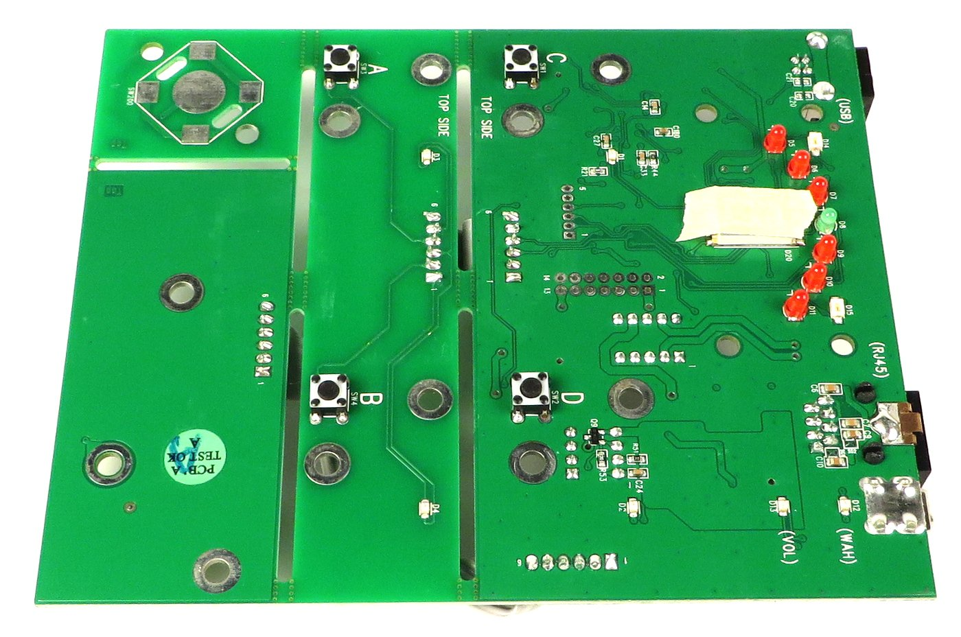 Main Pcb Assembly For Fbv Express Mk2 By Line 6 50 02 0264 Full Printed Circuit Board Photo From Wwwexpresspcbcom