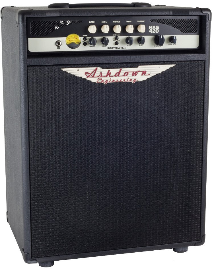 "Rootmaster Series 420W 1x15"" Bass Combo Amplifier"