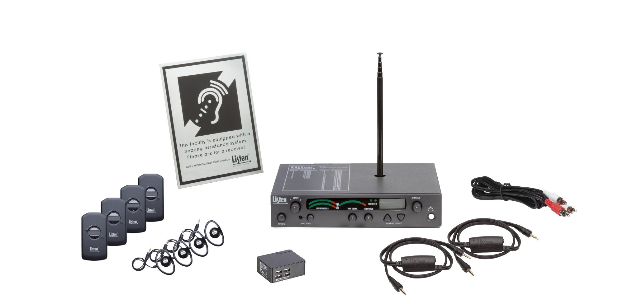Listen IDSP Prime Level 1 Stationary RF System, 216 MHz