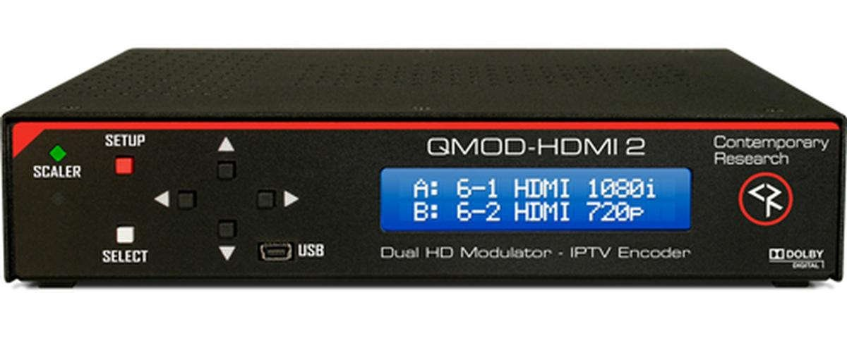HDTV Modulator and IPTV Encoder