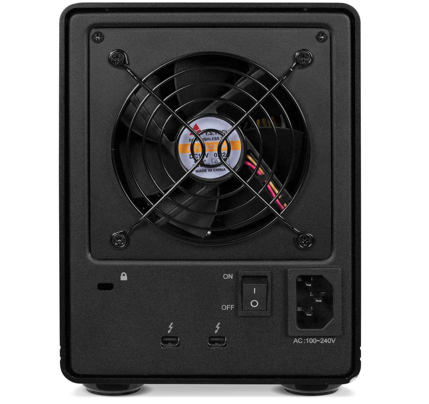 4-Bay Thunderbolt 2 External Drive, 6TB Each