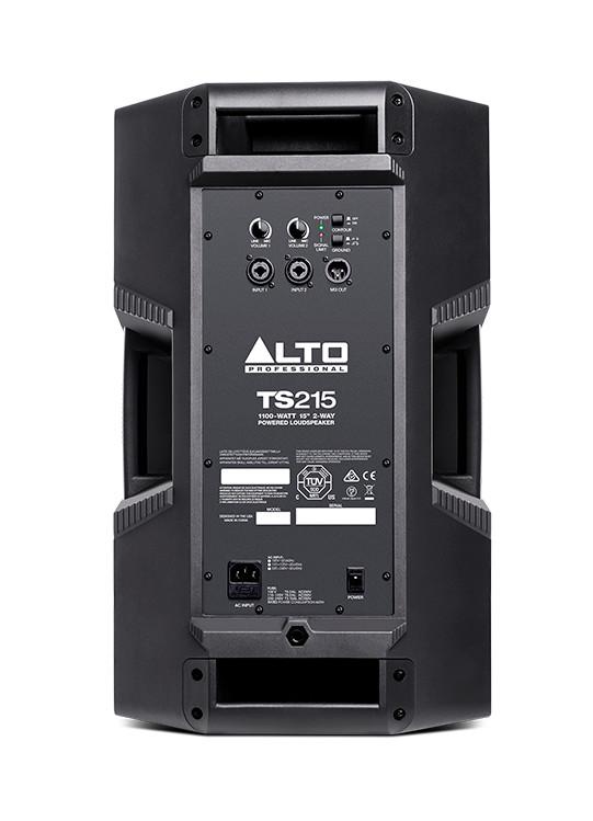 2-Way Powered Loudspeaker, 1100-Watt, 15-Inches