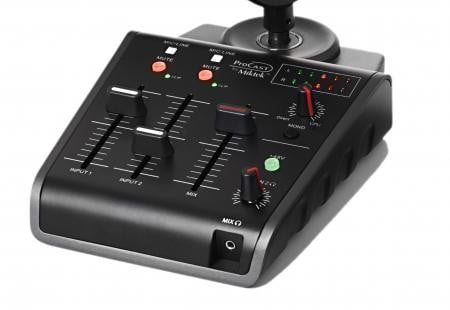 USB Microphone With Broadcast Mixer