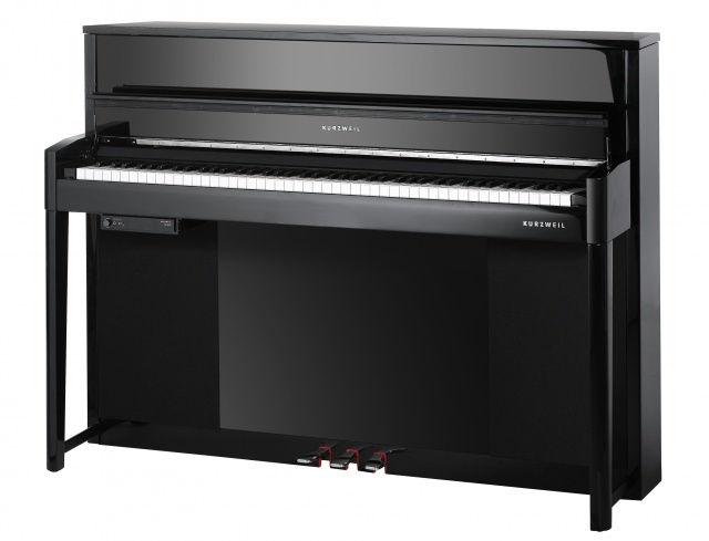 Andante Compact Upright Black Polish Digital Piano