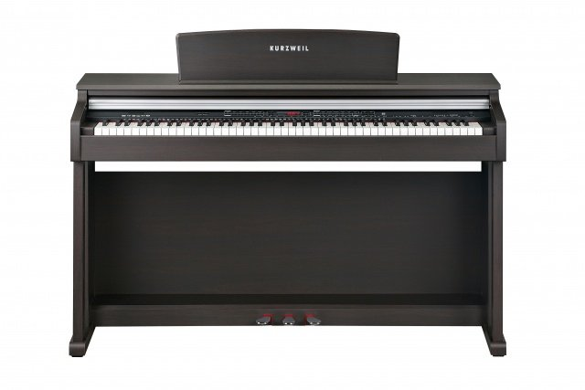 Rosewood Spinet Style Digital Piano with Arranger