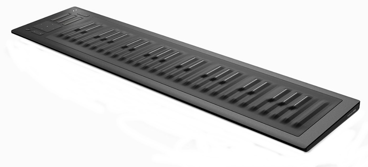 roli seaboard rise 49 seaboard rise 49 49 key keywave controller with bluetooth connectivity. Black Bedroom Furniture Sets. Home Design Ideas