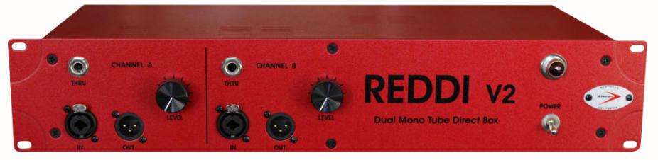 2RU Rackmount 2-Channel Tube Direct Box
