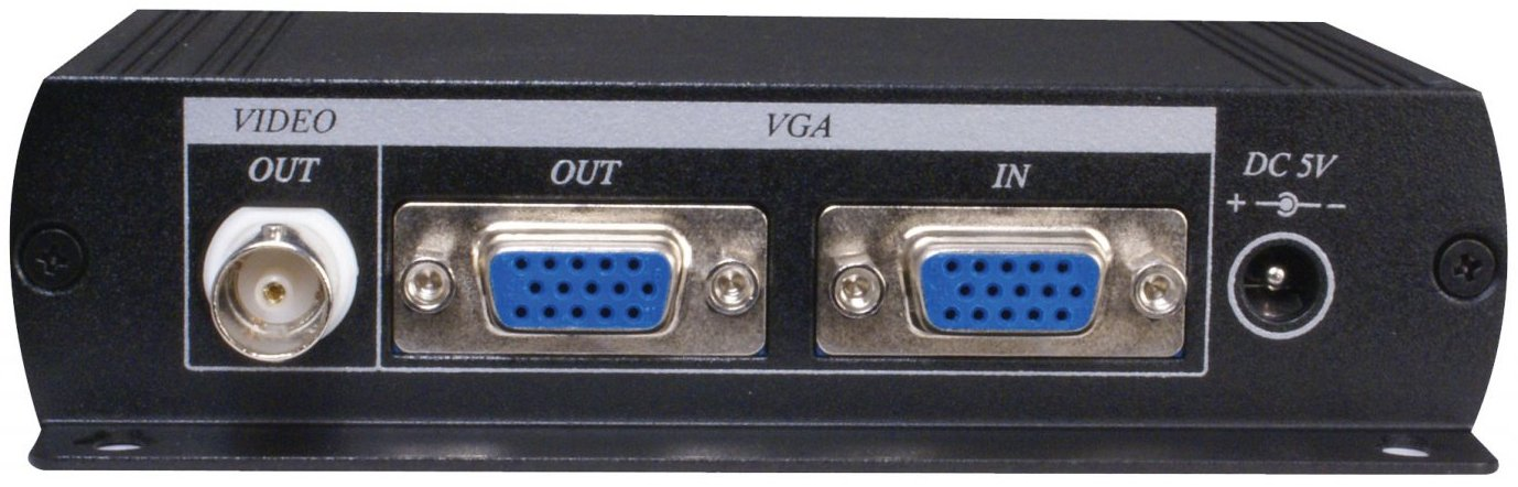 VGA to VGA and BNC Video Converter