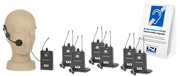 Tour Guide Package, 6 Receivers, Transmitter And Microphone
