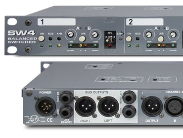 Audio Switcher, 4 Channel