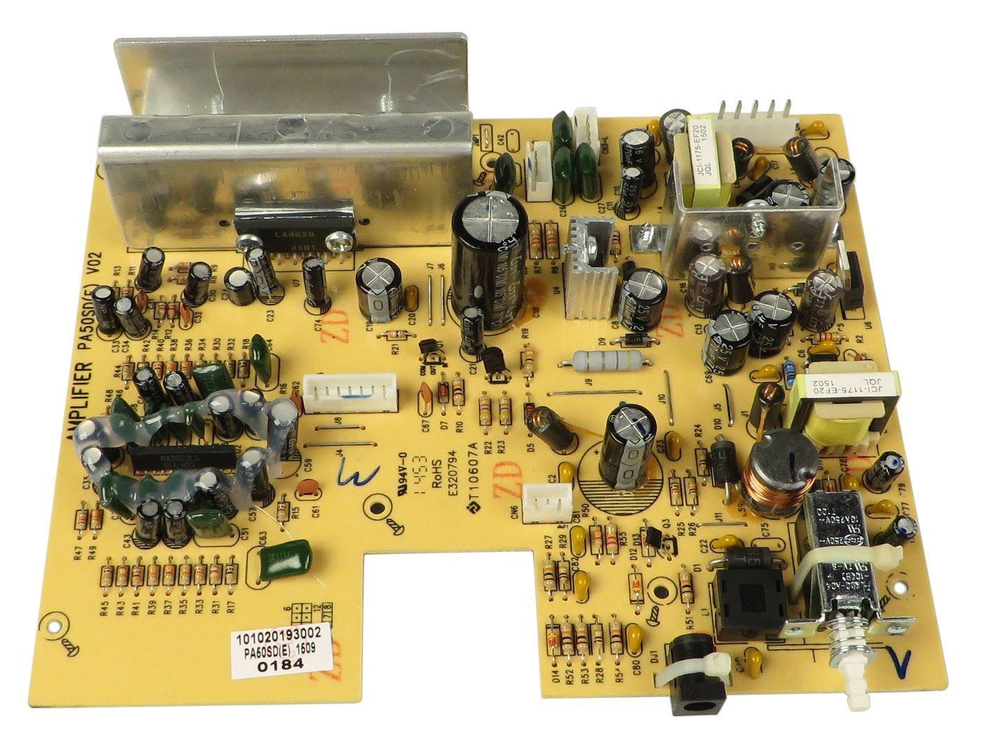 "Korg 530000003009  REV ""E"" Amp PCB Assembly for PA50SD 530000003009"