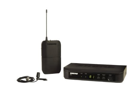 Wireless System with CVL Lavalier Microphone
