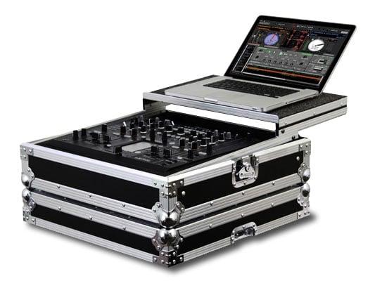 Flight Zone Glide Style DJ Mixer Case for Pioneer DJM-2000
