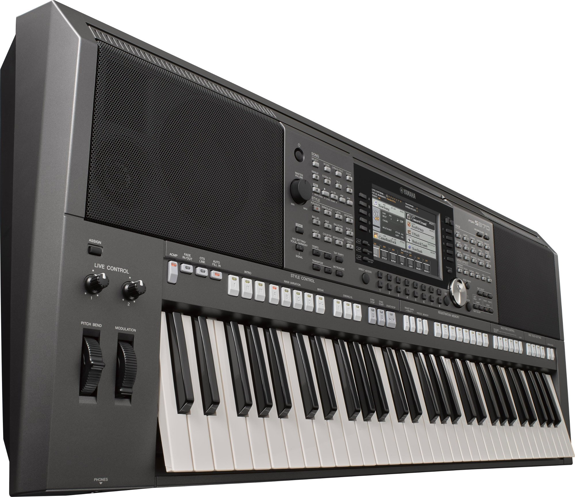 S-Series 61-Key Portable Arranger/Workstation