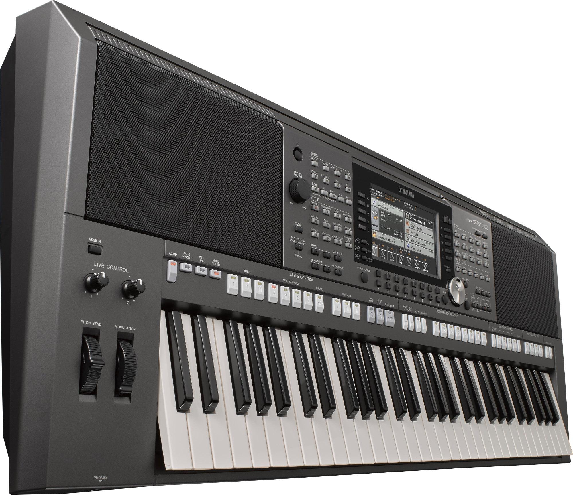 S-Series 61-Key Portable Arranger/Workstation