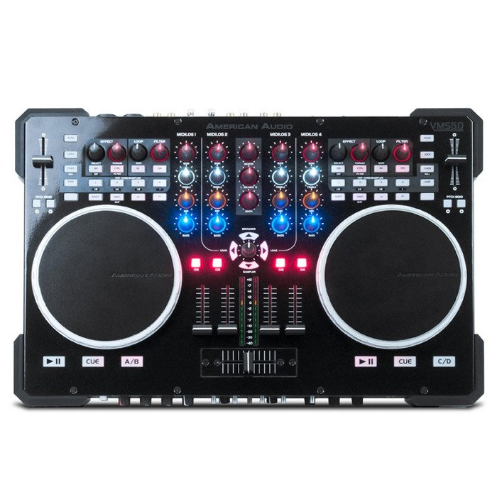 6-Channel DJ Controller