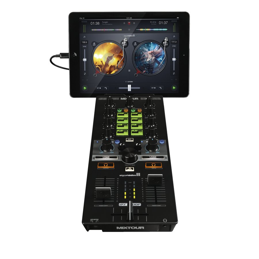 DJ Controller For DJAY2, Traktor, And VDJ