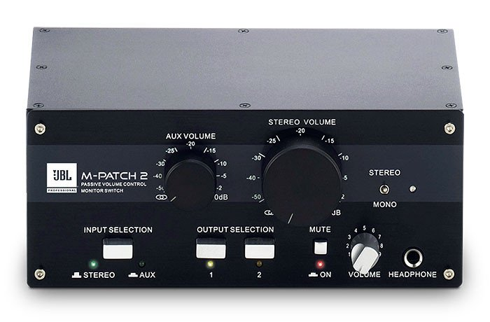 Passive Stereo Controller And Switch Box